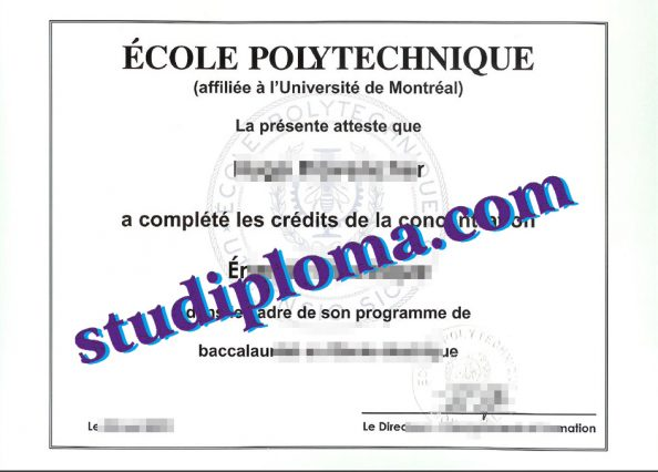 buy Ecole Polytechnique diploma