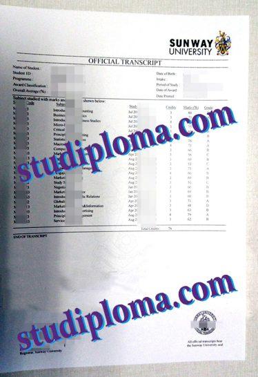buy fake Malaysia transcript