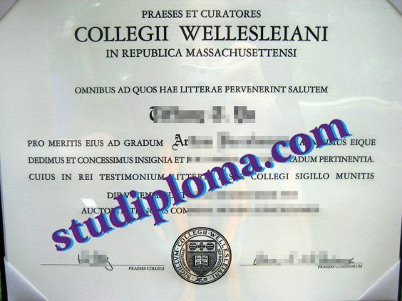 Wellesley College degree