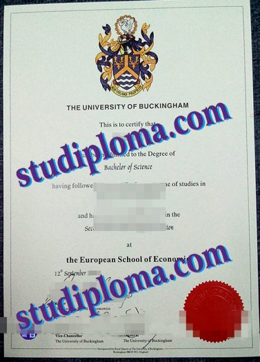 buy University of Buckingham degree certificate
