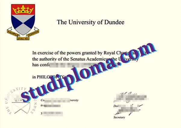 buy University of Dundee degree