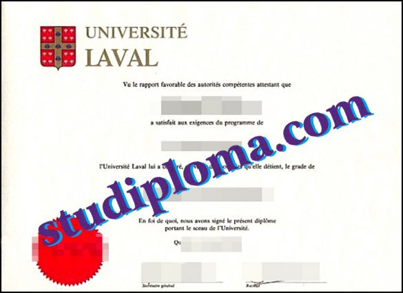 Université Laval degree