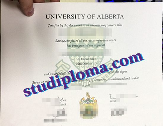 buy University of Alberta degree certificate