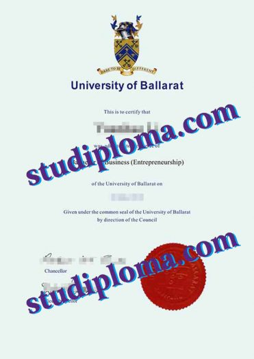 buy University of Ballarat degree certificate