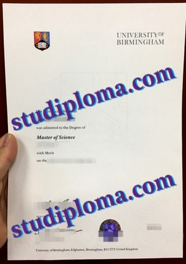 buy University of Birmingham degree certificate