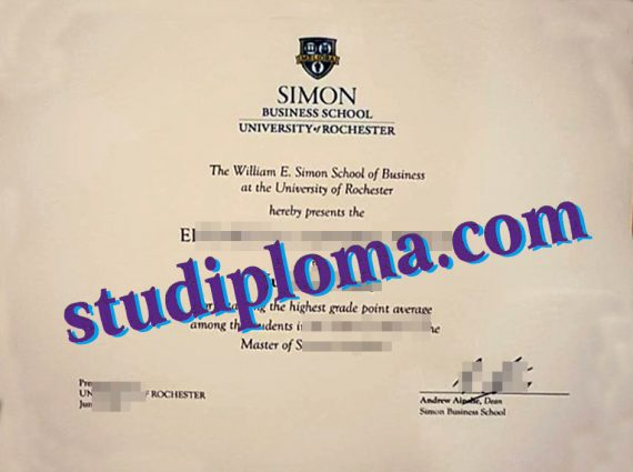 buy University of Rochester degree certificate