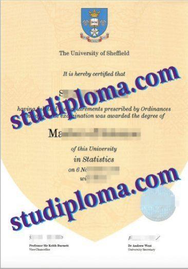 buy University of Sheffield degree certificate