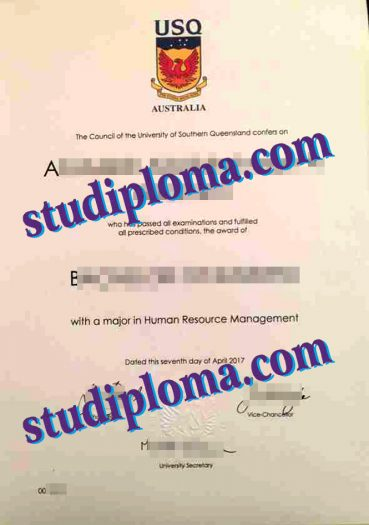 buy USQ degree certificate