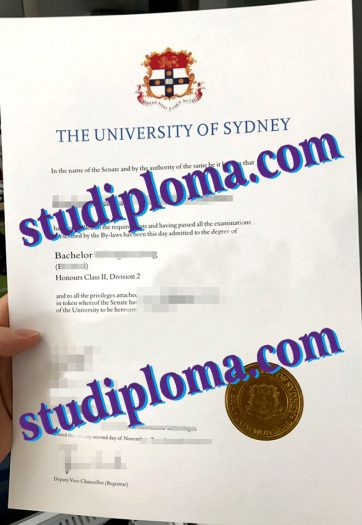 buy University of Sydney degree certificate