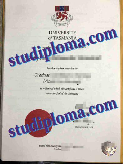 buy University of Tasmania degree
