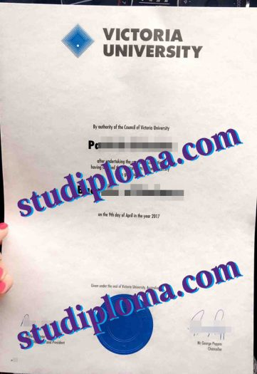 Victoria University Australia fake degree certificate