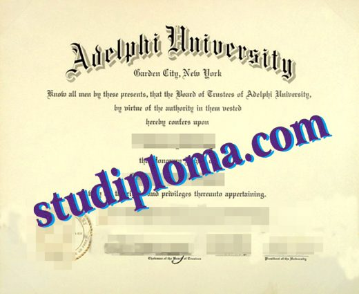 buy Adelphi University degree certificate